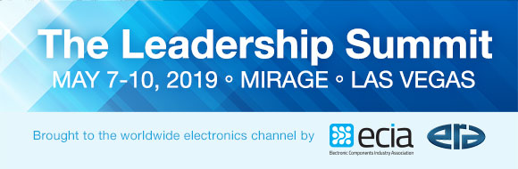 EDS 2019: The Leadership Summit. May 7-10, 2019. Mirage, Las Vegas. Brought to the worldwide electronics channel by ERA and ECIA
